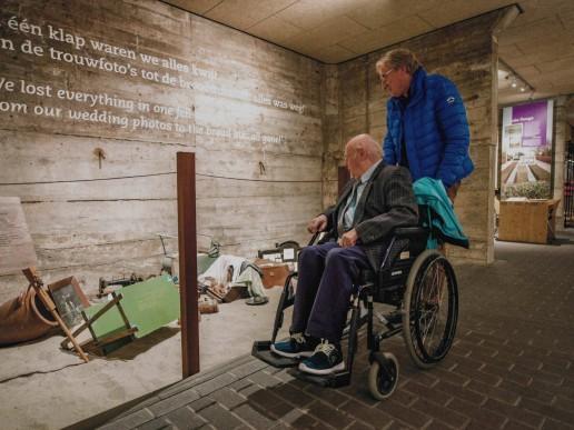 Watersnoodmuseum toegankelijk rolstoel